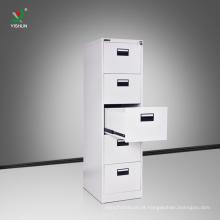 China fez escritório armário de arquivo de móveis de metal lateral