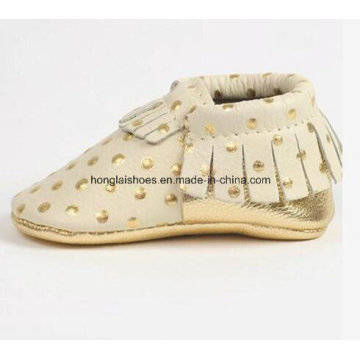 Leather Tassels Baby Shoes 03