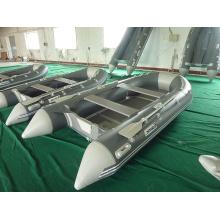 Heißer Verkauf grau Motor Schlauchboot zum Angeln