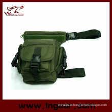 Usage multiple Drop Leg Pouch sac de transport tactique sac de taille avec la qualité
