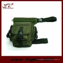 Uso múltiplo larga cintura bolsa sacola tático bolsa de perna com alta qualidade