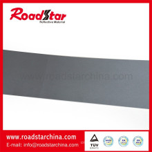 Normal reflective microfiber leather with reflective grey color for shoes