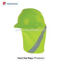 Sombrero al por mayor de la gorra de la sombra del sombrerero de la seguridad reflexiva respirable al por mayor del color y del tamaño del OEM Sombrero ancho de la protección del sol del logotipo del OEM