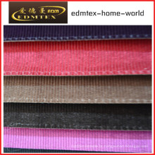 Tecido liso do Chenille para a embalagem do sofá nos rolos (EDM0209)
