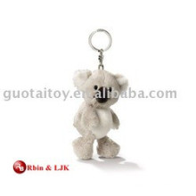 High quality custom plush koala bear keychain
