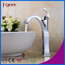 Fyeer Original Fashion High Body Faucet Kitchen Steamline Brass Sink Water Mixer Tap