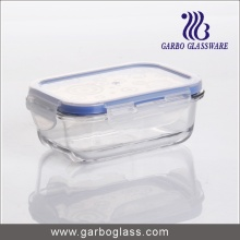 Microwave Safe Heat Resistant Glass Storage Bowl for Supermarket Promotion
