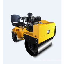 CE certification double drum ride-on vibratory roller