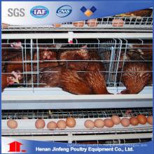Cage de batterie de ferme de volaille pour des oiseaux de poulet de poulette de poulailler de couche