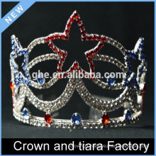Princess star tiara crown, Rhinestone girls tiara crown
