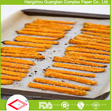 Feuilles de papier cuisson parchemin antiadhésif