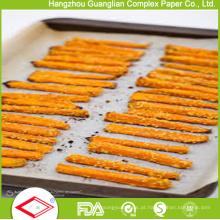 Non-Stick Vegetable Parchment Papers forros de folha de cozimento