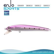 Angler Select Minnow Fishing Bait Shallow Fishing Tackle Lure with Vmc Treble Hooks (SB0812)