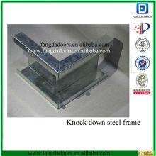 cadre de porte en métal kd, cadre de porte en métal creux