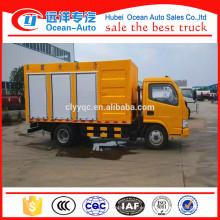 Tipo de conducción 4 * 2 Mini camión de eliminación de aguas residuales