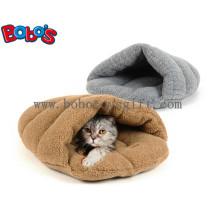 Estera grande del gato de la casa del gato de la cama del animal doméstico del deslizador del precio barato