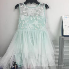 Embroidery voile dress