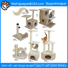 Pet Gaiolas Transportadoras e Tipo de Casas e Cats Application Modern Cat Tree