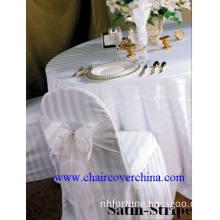 Satin Stripe Chair Covers