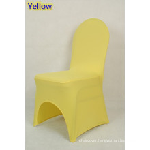 wedding chair covers,lycra chair cover,fit all banquet chairs,high quality,yellow