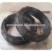 Fil torsadé noir recuit / fil noir recuit en bobines, bobines ou coupé en