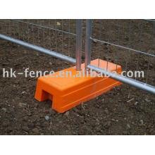bloco de esgrima de construção temporária de plástico