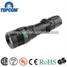 Hochleistungs-LED-Zoom-Taschenlampe