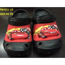 Dernières chaussures de jardin de chaussures de jardin de lumière d'Eva pour des enfants (FBJ521-18)