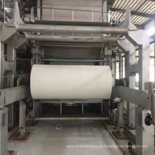 Guardanapo de papel que faz a máquina