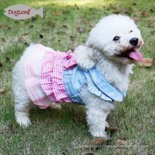 Costumes de chien de robe de mode pour animaux de compagnie Robes de printemps de chien mignonne belle vinaigrette