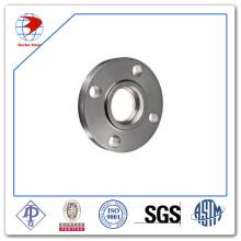 Aço Inoxidável ASTM A182 F317h Sw Flange RF 300 Lb 4 Polegadas Sch Std ANSI B16.5 Soquete Soldado Flange