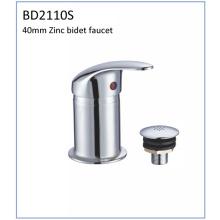 Bd2110s 40mm Zinc solo palanca bidet grifo