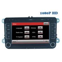 2 reproductores de DVD del coche especial de DIN para la navegación del GPS de Vw con la función de la pantalla táctil de Bluetooth / Radio / RDS / TV / Can Bus / USB / iPod / HD (HL-8785GB)