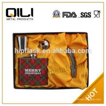 LFGB 8oz stainless steel fancy liquor wine bottle wholesale liquor prices buy hip flask online