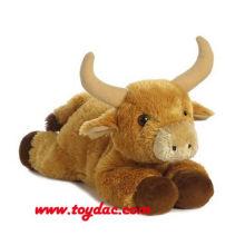 Vaca de juguete suave de peluche