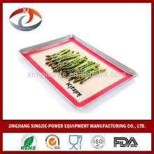 Großhandel Nicht-Stick Silikon Backmatte Zucker Kunst Blatt Macarons Matte 40X60CM
