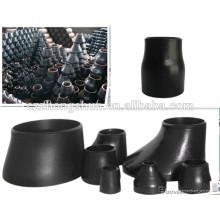 4 pulgadas de calendario de 40 aceros de acero de tuberías grandes reductor de tuberías