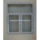 Wanjia PVC Casement Window (P-C-W-001)