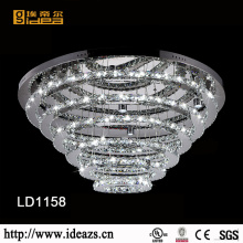 Lampe de plafond de salon Crystal Made in Zhongshan