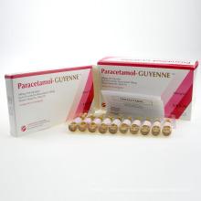 Inyección de lidocaína en medicina occidental para la inyección de paracetamol en cirugía