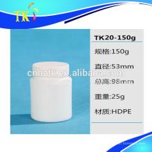HDPE plástico 150ml, 220ml, 250ml, 300ml, 400ml, 625ml.