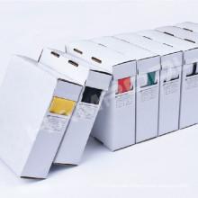 Industrieller Gebrauch Plastikhitze Schrumpfschlauch-Weißkasten