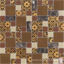 4mm Material de la decoración Pared y suelo Mosaico del vidrio del azulejo