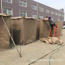 hesco flood barrier same as galvanized hesco barrier for military uniforms