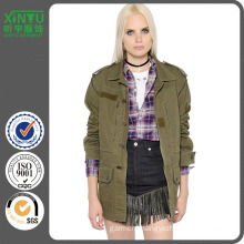 2016 Women Cotton Denim Field Jacket