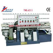 YMLA211 Mini Vertical Glass Grinding Machine with 4 Wheels