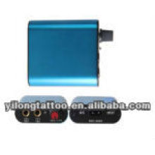 Mini metal shell power supply in blue
