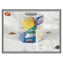 YongJun plástico 4x4 cubo cuadrado mágico niños juguetes