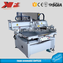 Motor driving silk screening printing machine with vacuum table
