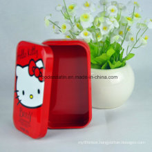Metal Candy Small Rectangular Costom Tin Boxes for Food Packaging